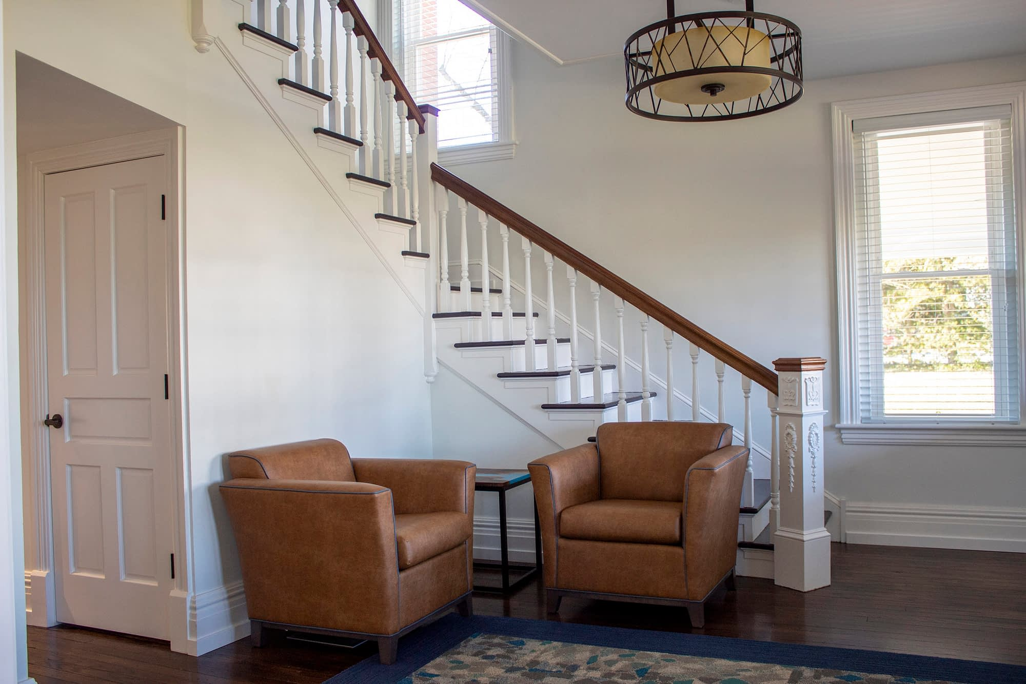 Entryway and Staircase