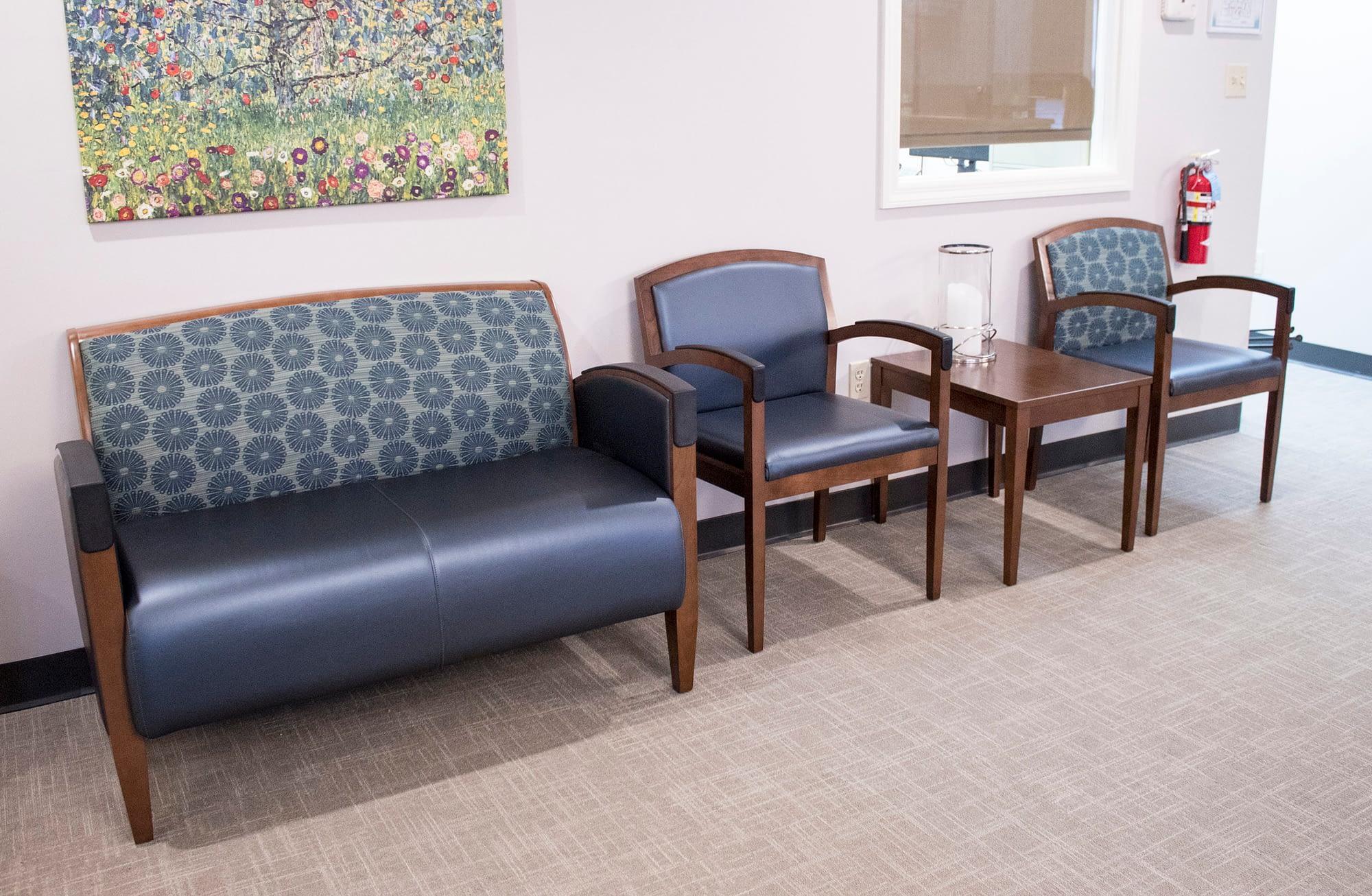 Three Seats in Waiting Room