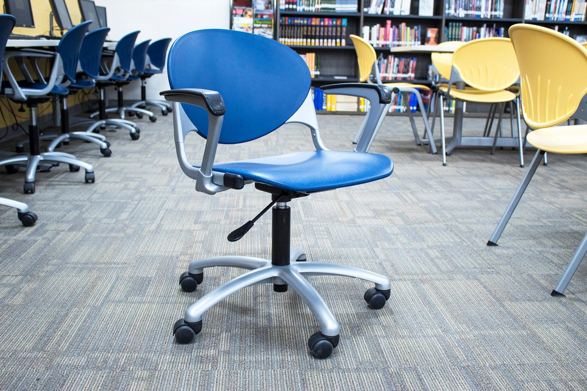 Blue Cinch Chair