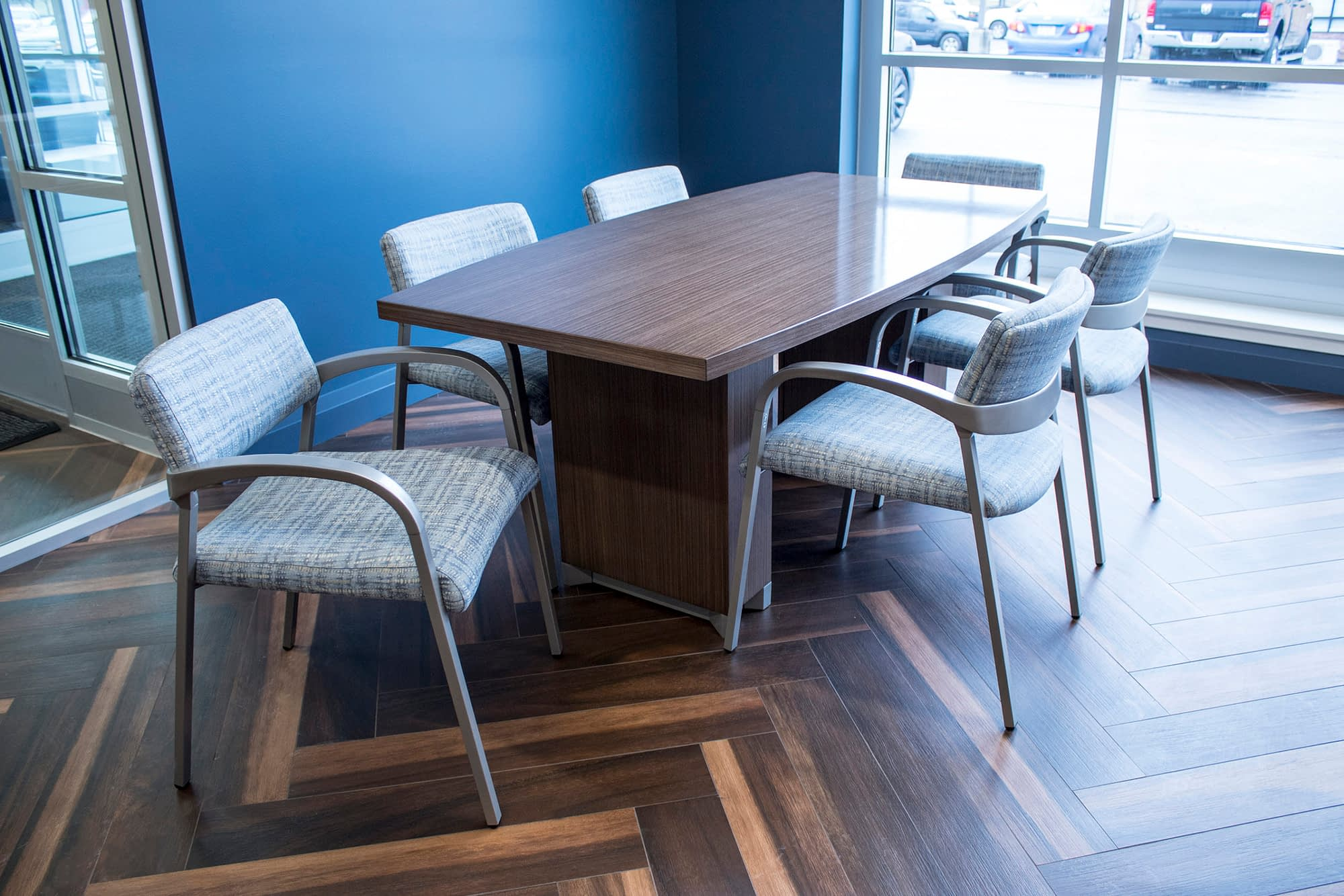 Transteck Executive Office Conference Table and Chairs