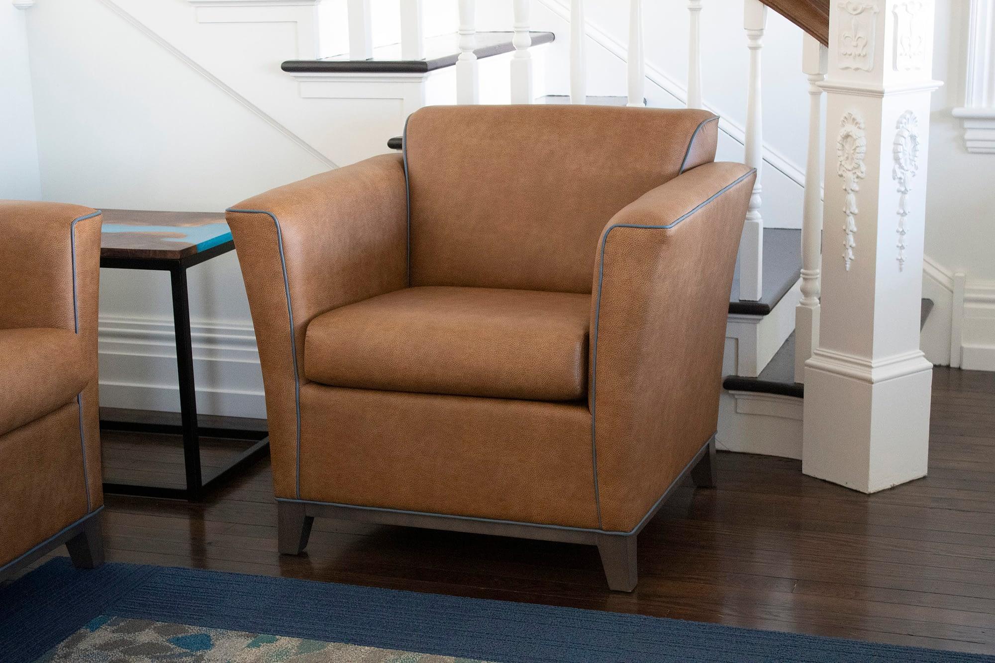 Entryway Chair Closeup