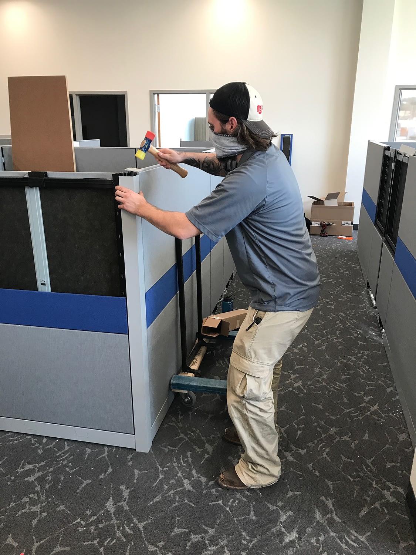 benjamin roberts installer installing furniture