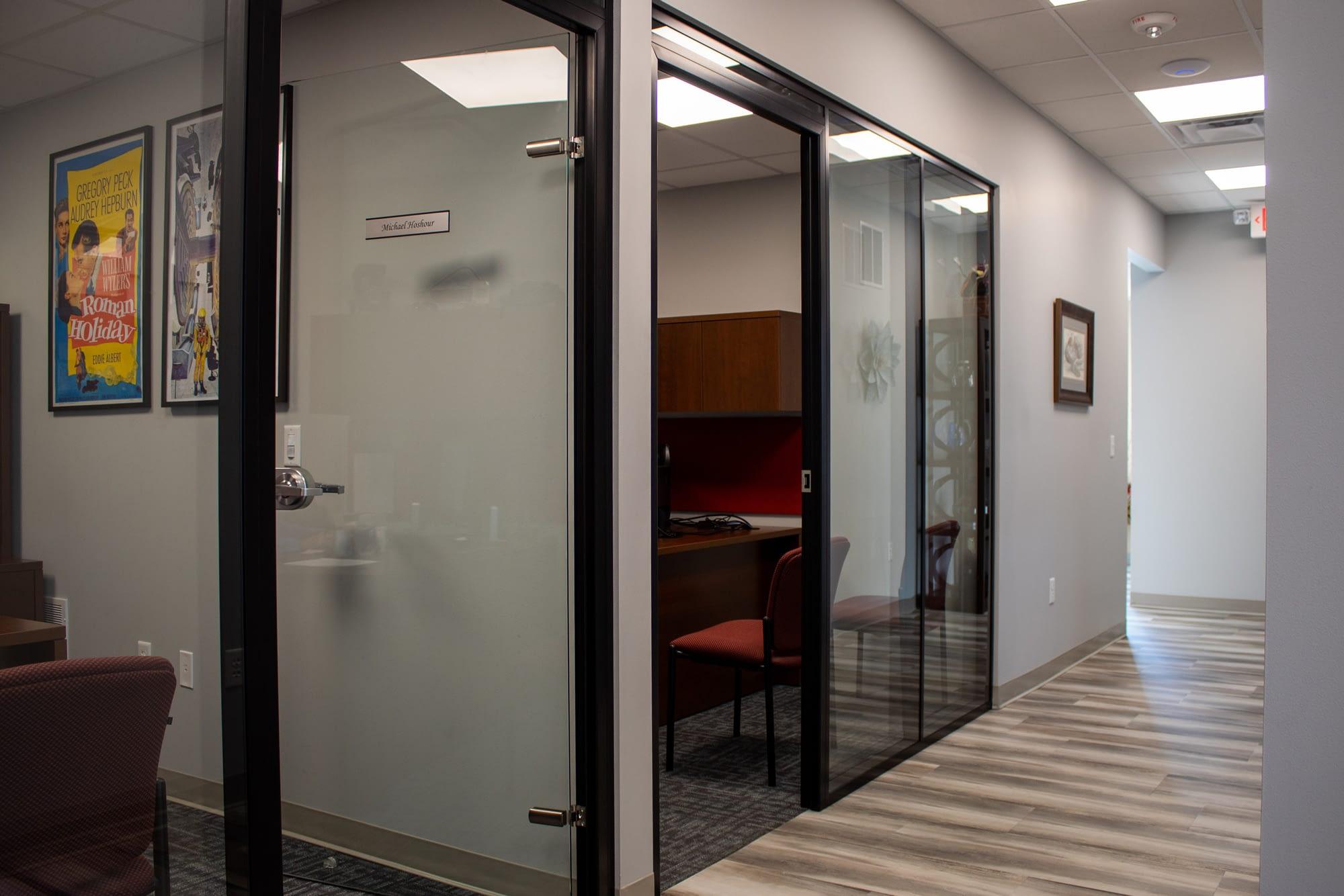 demountable glass office walls