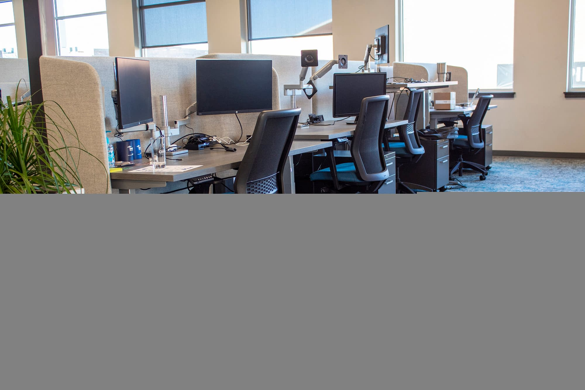 workstations and task chairs